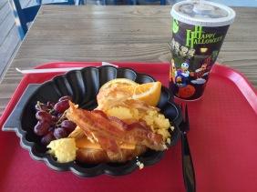 Disneyland, Paradise Pier breakfast