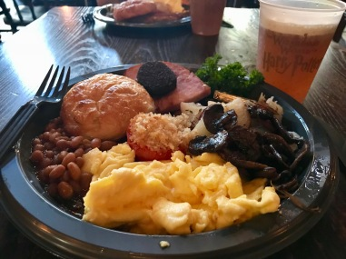 English Breakfast @ Three Broomsticks