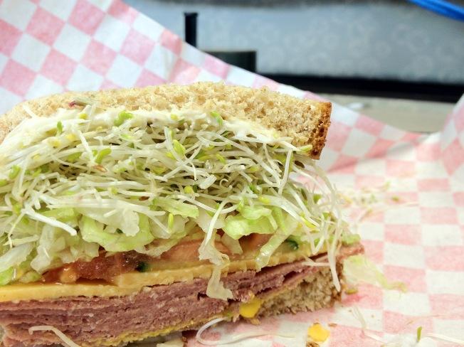 Apple Deli Sandwich