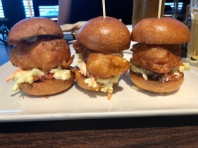 Crispy Fish Sliders @ Sailor Hagars