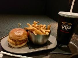 Chicken Parm Burger @ Cineplex VIP