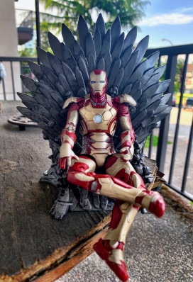 Iron Man on the Iron Throne