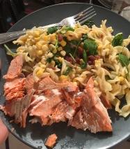 Salmon Dinner @ Home