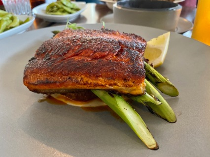 Blackened Salmon @ Hook Seabar
