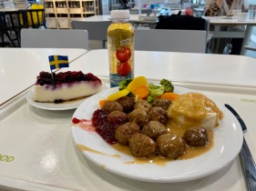 Swedish Meatballs @ IKEA Richmond