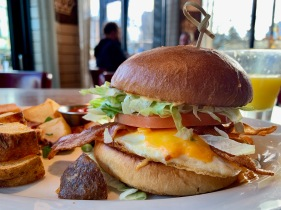 Bacon & Egg Sandwich @ Browns
