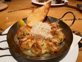 Stuffed Shrimp & Bubba Bump Shrimp Company