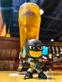 The Dark Knight with Beer