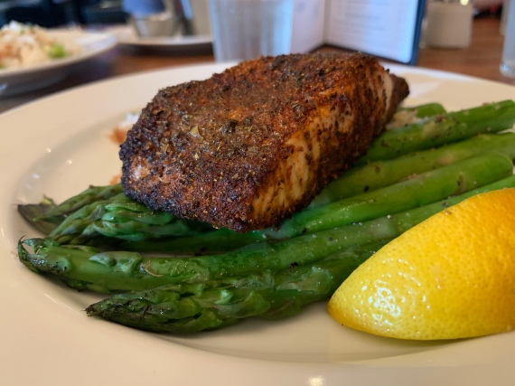 Earls Blackend Salmon