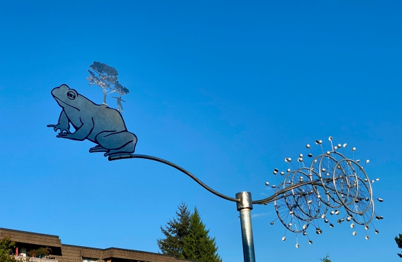Public Tree Frog Mobile by Doug Taylor